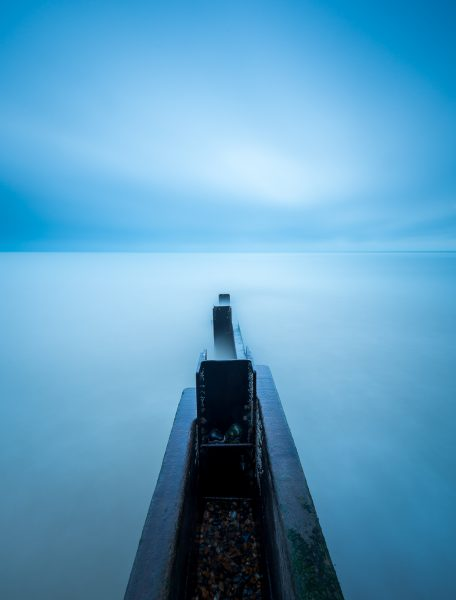 long exposure kent coast at st.margaret's bay