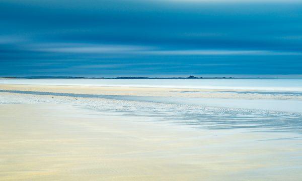 Holy island Budle bay Lindisfarne landscape photography