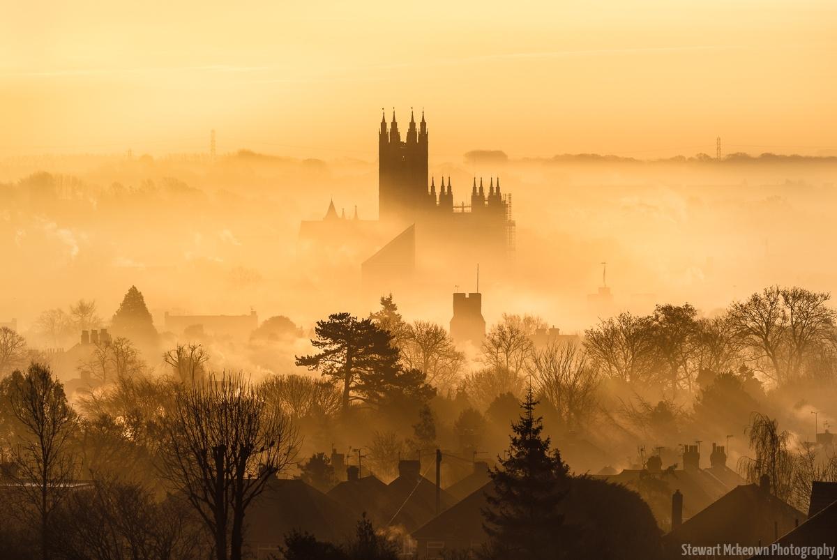 In the Fog-Landscape Version