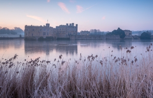 Leeds Castle in the Frost