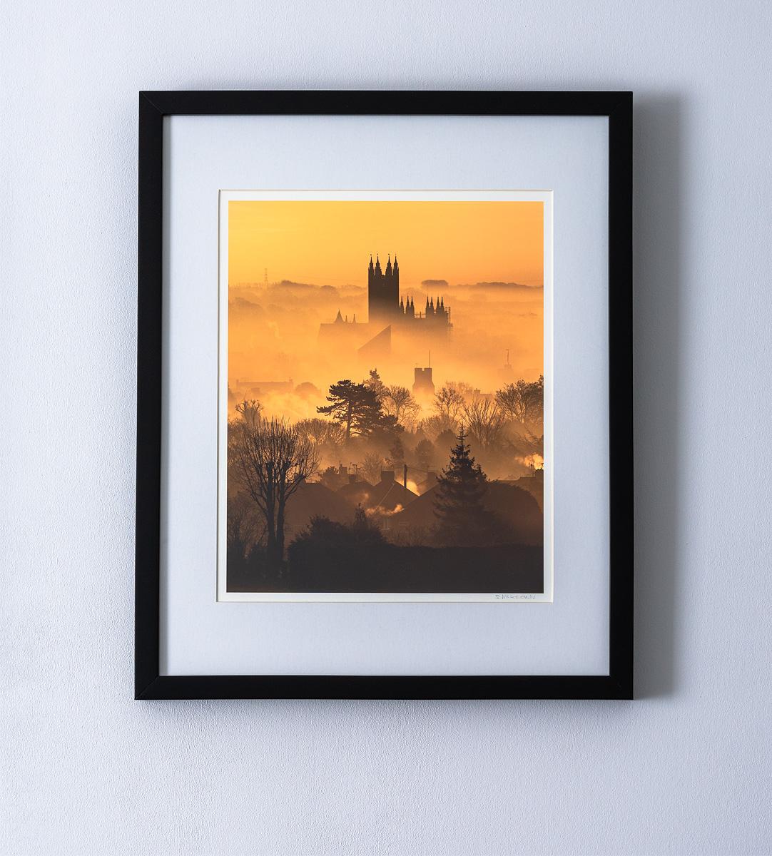 canterburyprint-framed