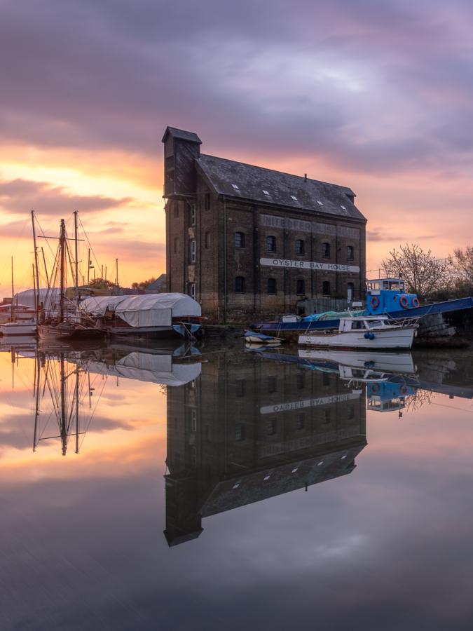 Oyster Bay House Faversham sunrise