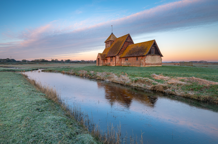 Fairfield Church on Romney Marsh
